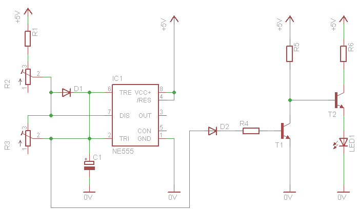 To Get Ideas Of Analog Breathing LED Circuits But I Did Not Found Something That Liked So Designed My Own Pulsing Circuit With A 555 Timer