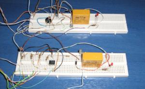 light dark activated relay starting circuit