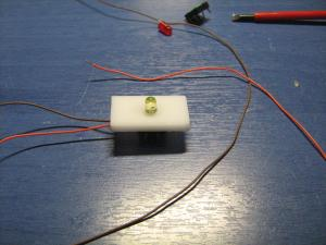 ساخت دکمه با led