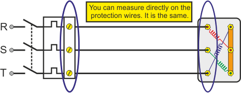 How to check the windings of a 3 phase ac motor with an for How to check ac motor