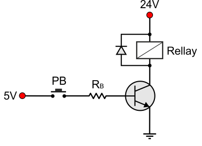 Bjtdcloadswitchingtransistor2png - Relay Circuit With Transistor