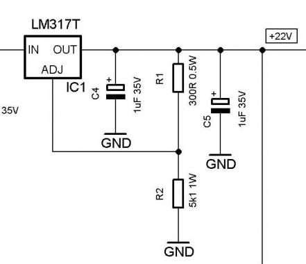 lm317t pcb