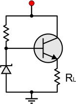 bjt transistor theory Two Transistor Emitter basic voltage regulator circuit